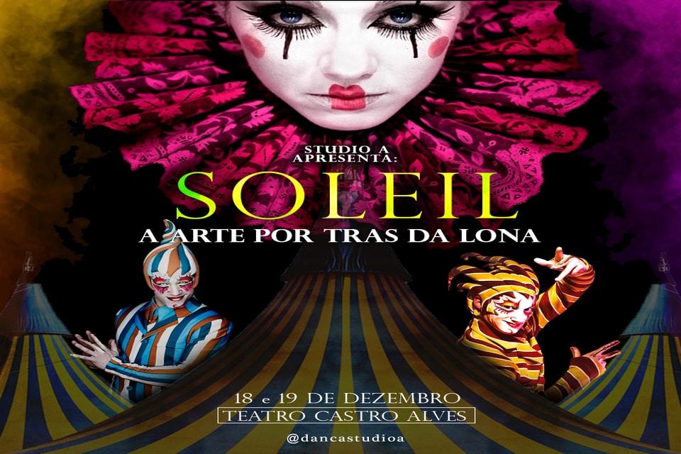 STUDIO A DE DANÇA - SOLEIL - A ARTE POR TRÁS DA LONA