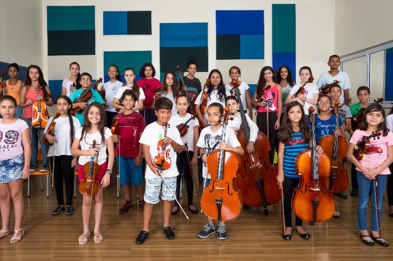 Orquestras Infantis -  Baccarelli