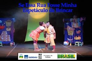 SE ESSA RUA FOSSE MINHA - ESPETÁCULO DE BRINCAR