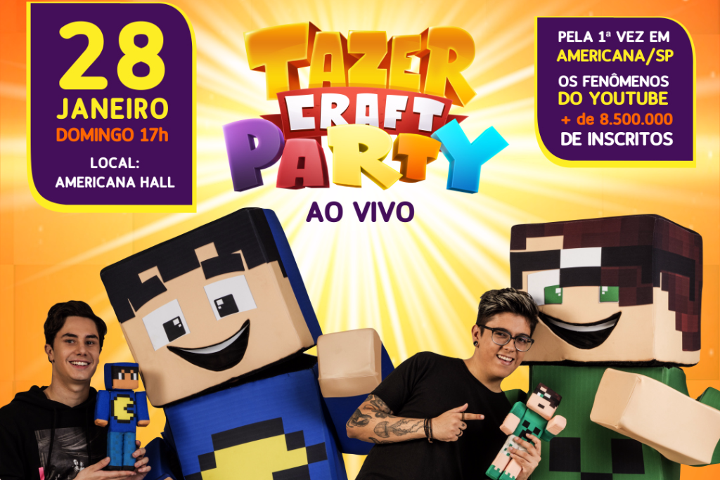 TazerCraft Party Americana