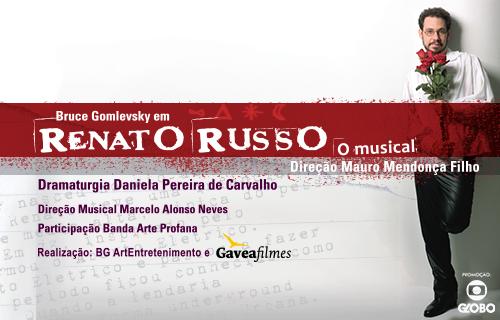RENATO RUSSO – O MUSICAL