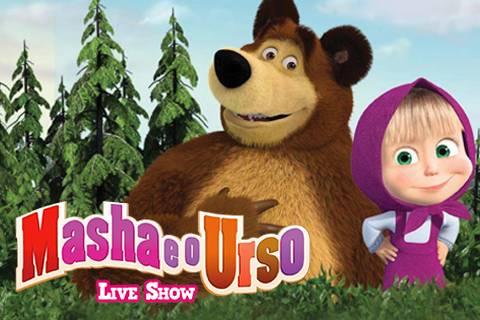 MASHA E O URSO - LIVE SHOW (RN2018)