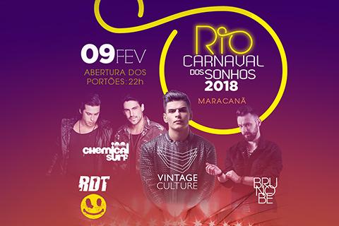 RIO CARNAVAL DOS SONHOS 2018