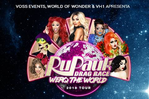 RU PAUL'S DRAG RACE WORLD TOUR