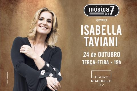 MÚSICA DAS 7 apresenta Isabella Taviani