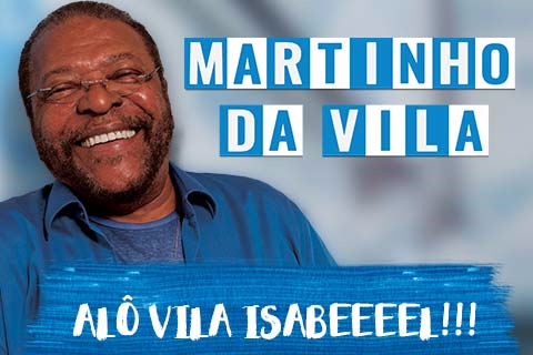 MARTINHO DA VILA - SHOW ALÔ VILA ISABEEEEL!!!