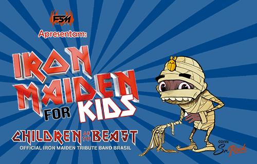CHILDREN OF THE BEAST – IRON MAIDEN FOR KIDS