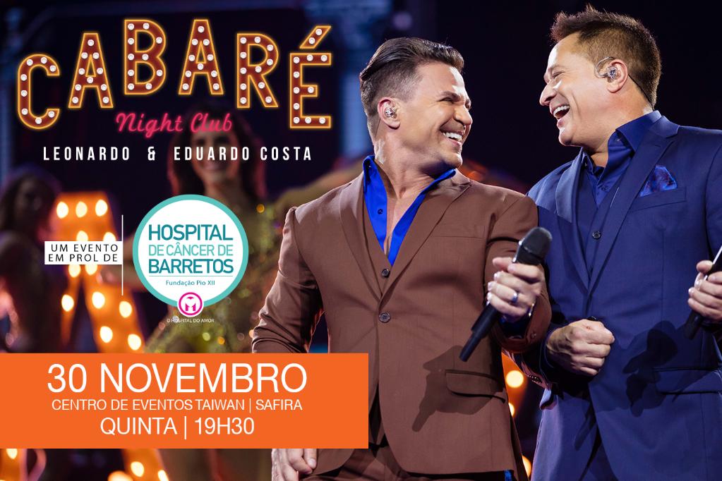Cabaré Night Club - Em prol ao Hospital de Câncer de Barretos