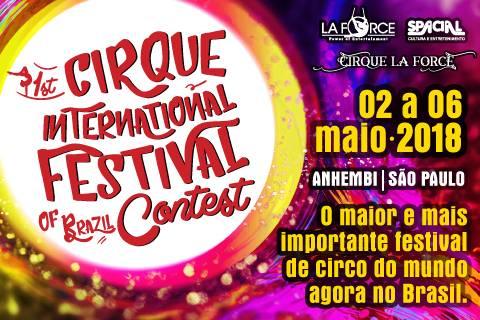 1st Cirque International Festival of Brazil Contest