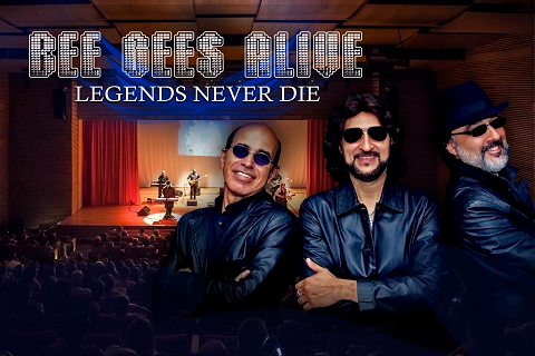 BEE GEES ALIVE - LEGENDS NEVER DIE